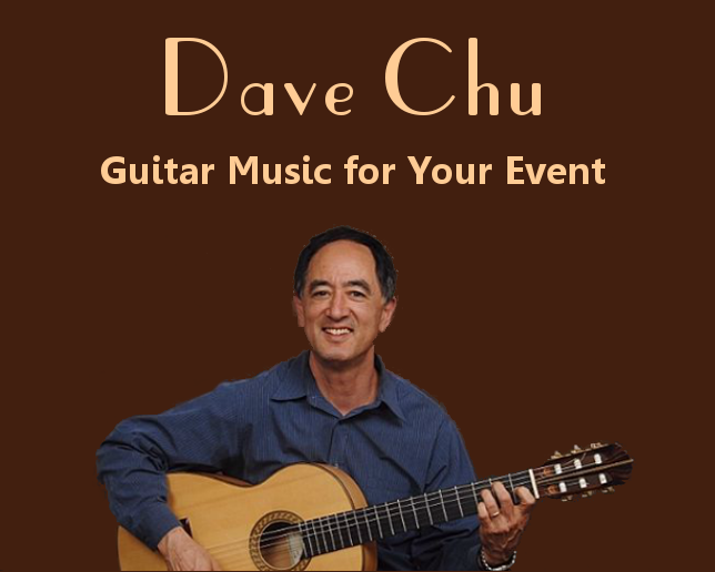 Dave Chu - Guitar Music for Your Event