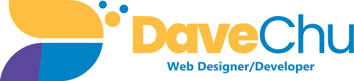 Dave Chu, Web Designer/Developer